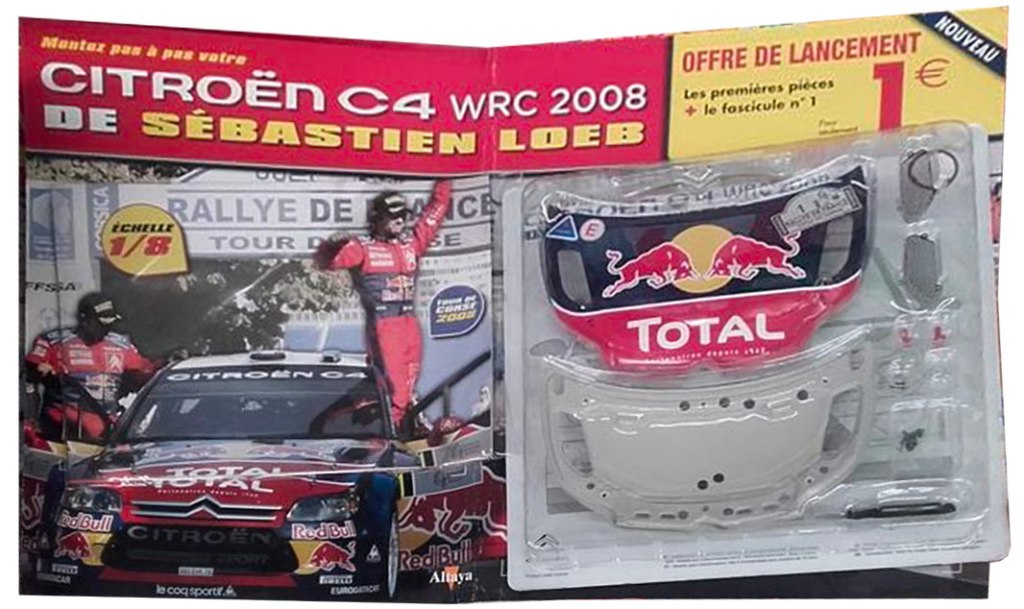Altaya Citroën C4 WRC Loeb