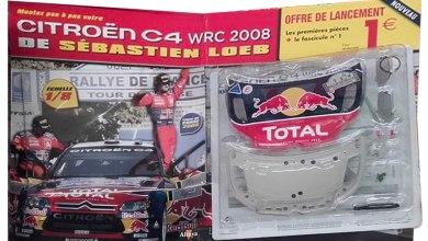 Photo de Altaya : montez pas à pas votre Citroën C4 WRC 2008 de Sébastien Loeb