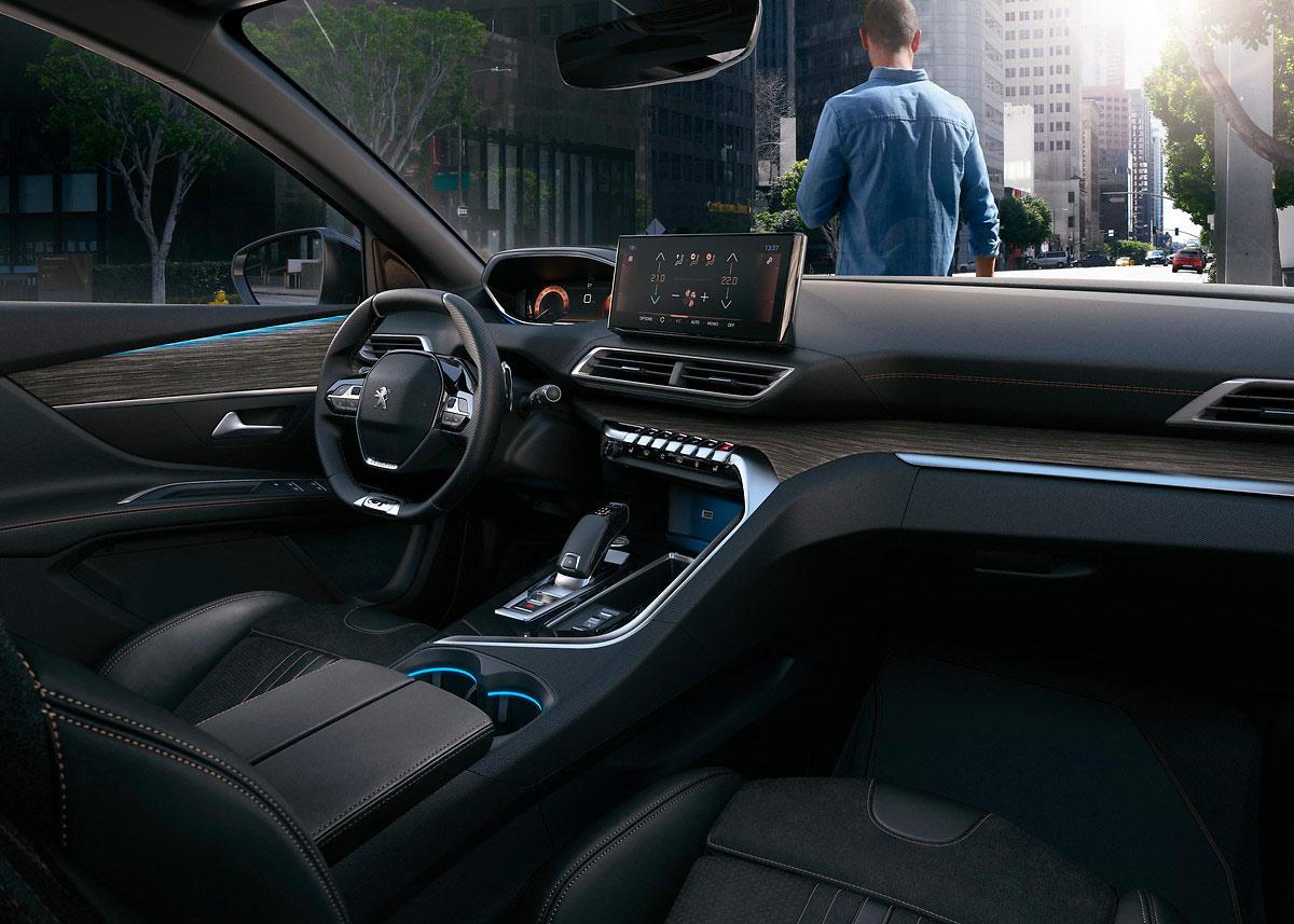 Ambiance intérieur du Peugeot 3008 restylé