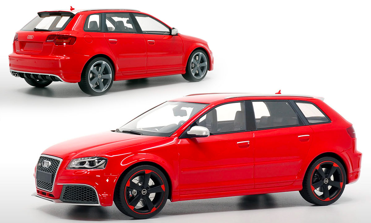 1/18 Audi RS 3 DNA Collectibles