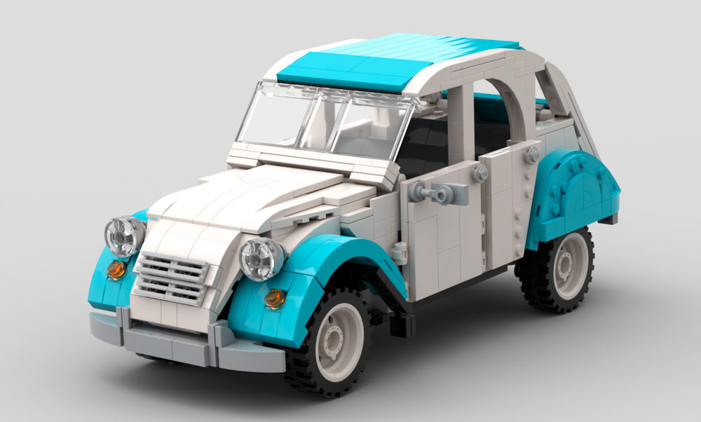 Citroën 2CV The Block Zone