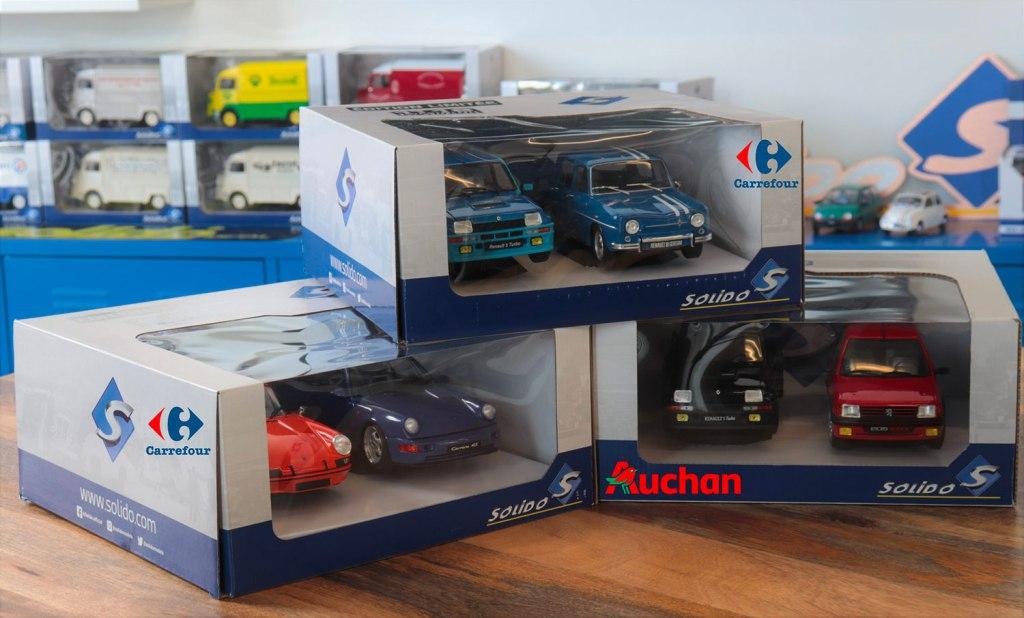 Packs Solido Carrefour Auchan