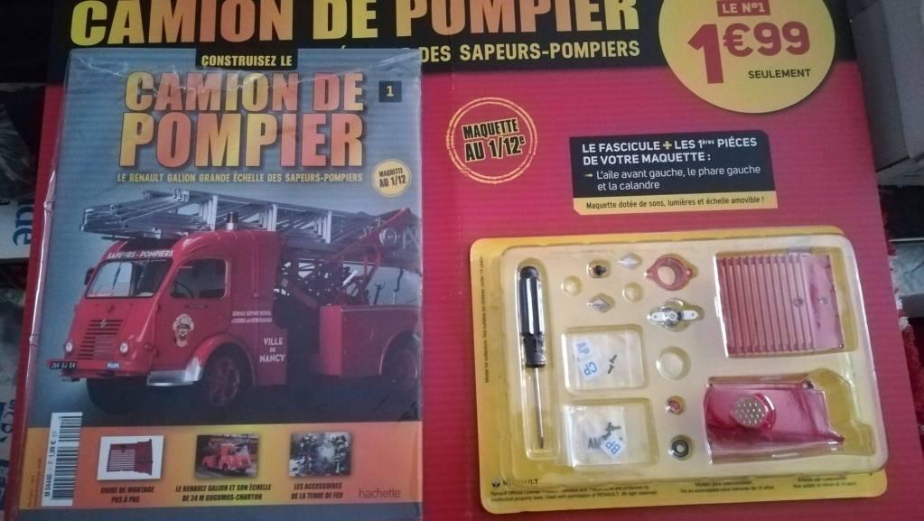 Hachette camion pompiers Renault Galion
