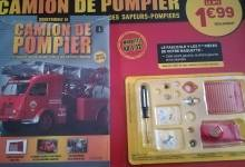 Photo de Hachette : construisez le camion de pompier Renault Galion 1/12