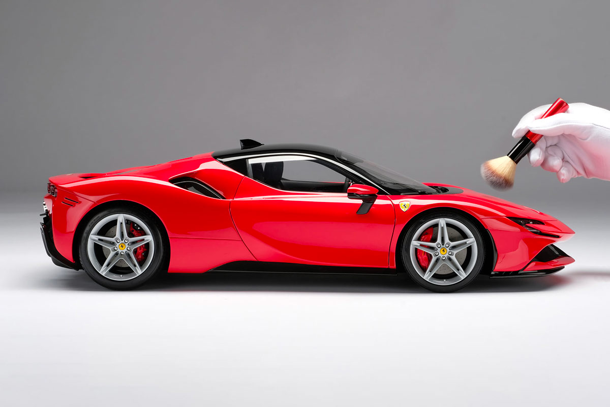 Profil Ferrari F90 Stradale