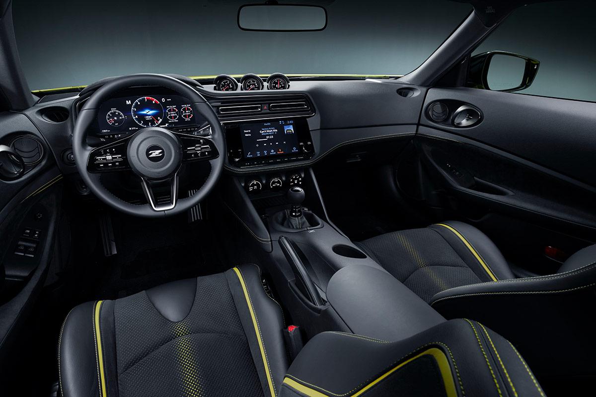 Nissan Z Proto intérieur
