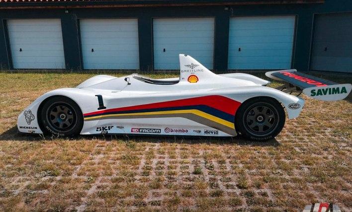 Peugeot 905 Spider profil