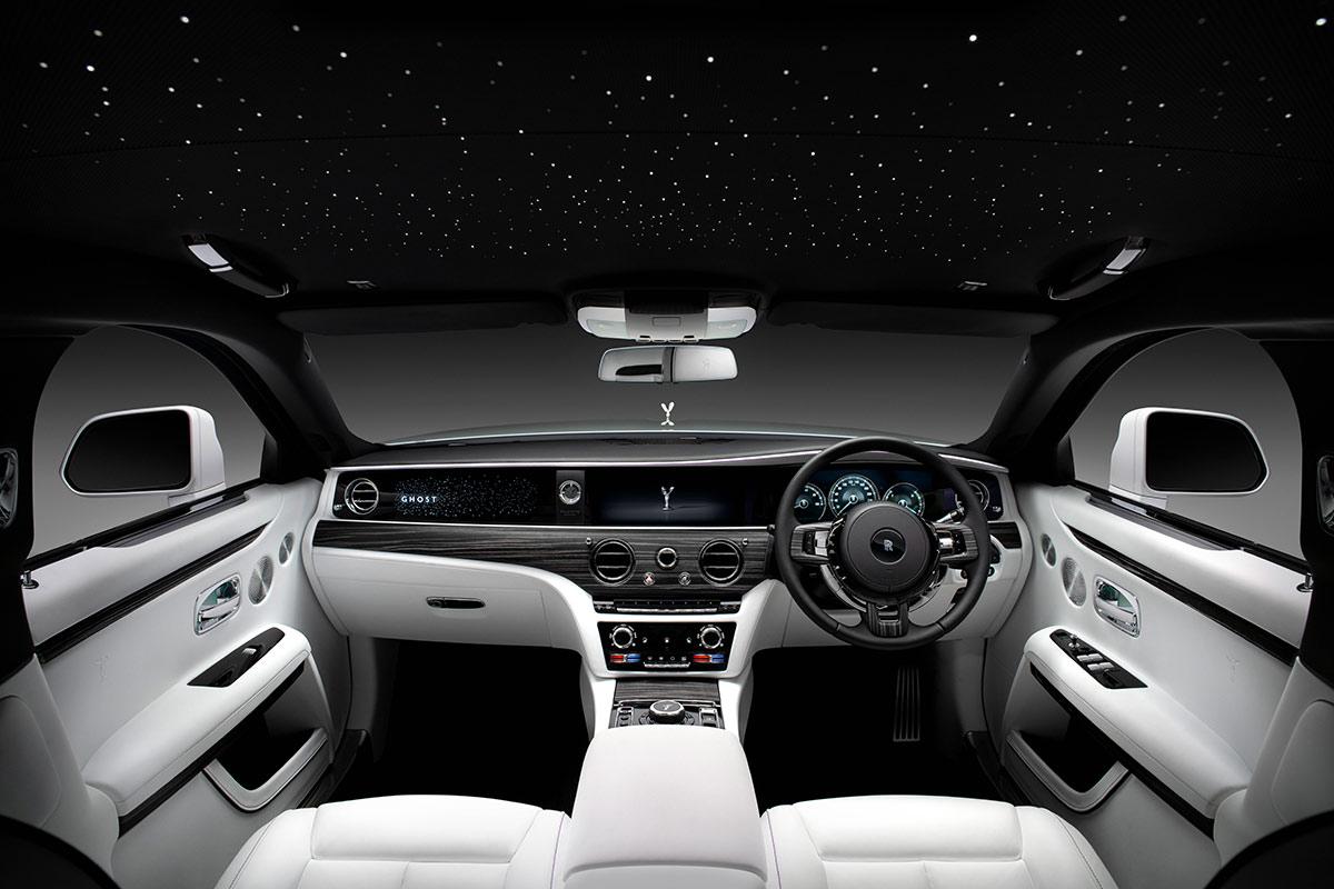 Intérieur Rolls Royce Ghost 2020