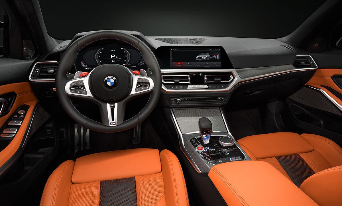 Tableau bord BMW M3 G80