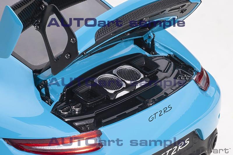 1/18 Porsche 911 GT2 RS AUTOart moteur