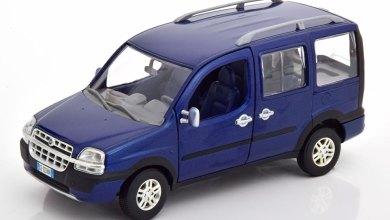 Photo de 1/24 : Le Fiat Doblo de Norev à petit prix