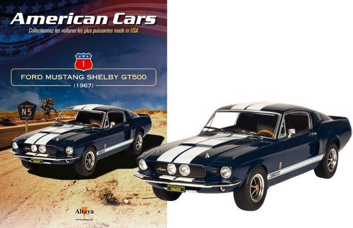 American Cars premier numéro Mustang
