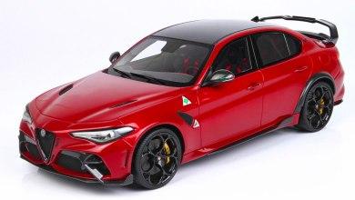 Photo de 1/18 : Voici l'Alfa Romeo Giulia GTAm de BBR Models