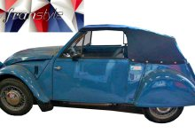 Photo de 1/43 : La Citroën 2 CV Sarhy Cabriolet prévue par Franstyle