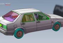 Photo de 1/18 : La Fiat Croma de 1992 annoncée chez Laudoracing