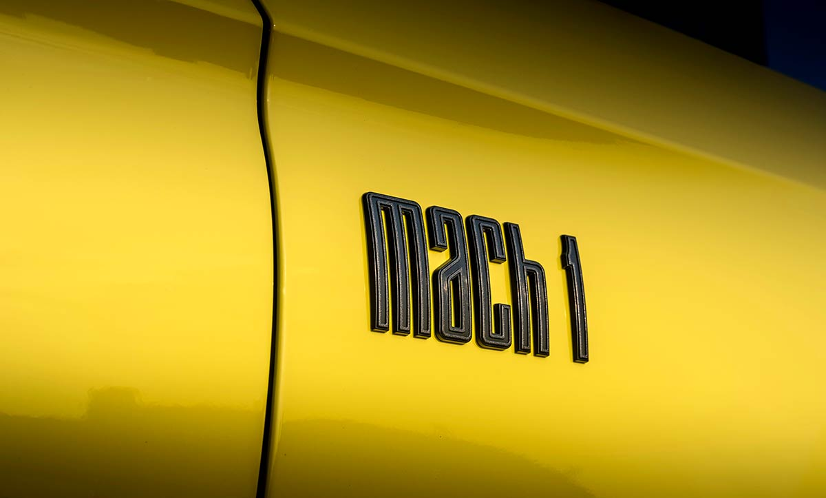 Sigle Ford Mustang Mach 1