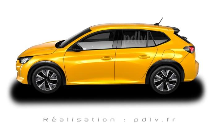 Peugeot 208 SW profil