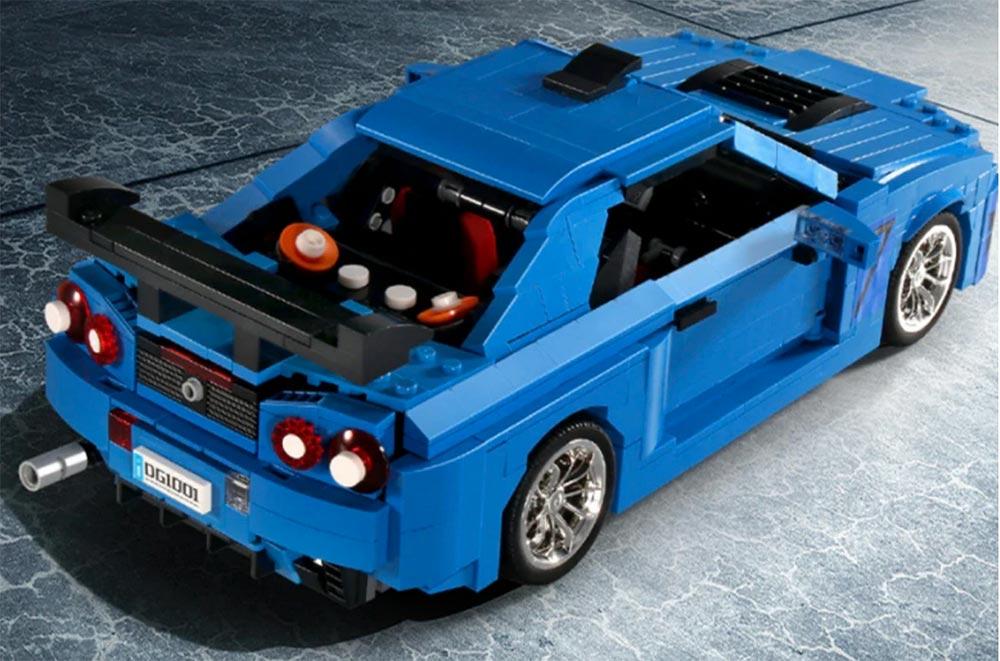 Nissan Skyline GTR R34 The Block Zone
