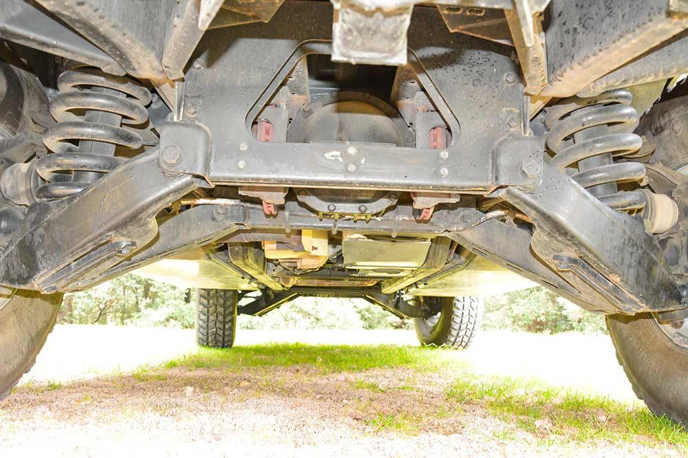 Châssis Hummer H1