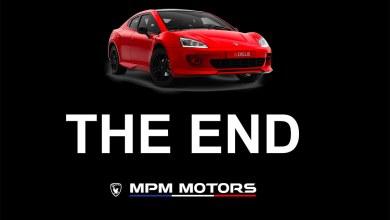 Arrêt de MPM Motors