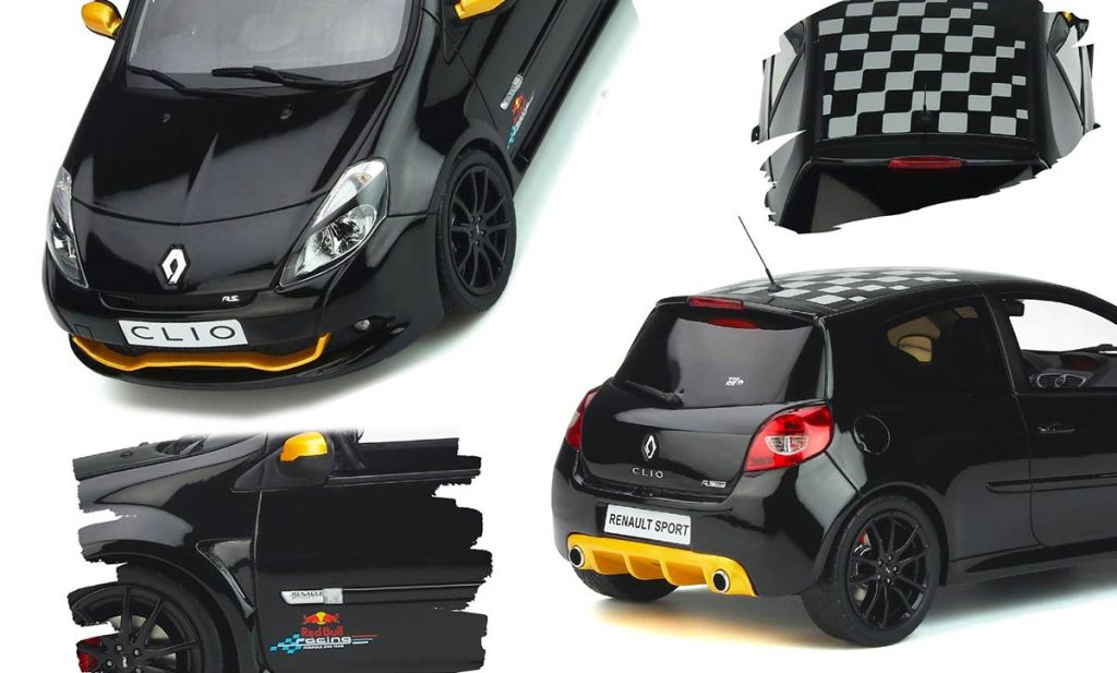 1/18 Renault Clio 3 RS Red Bull Racing RB7 OttOmobile