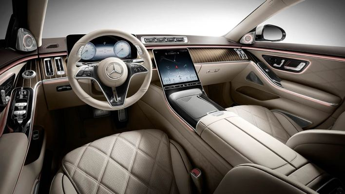 Mercedes Maybach Classe S habitacle