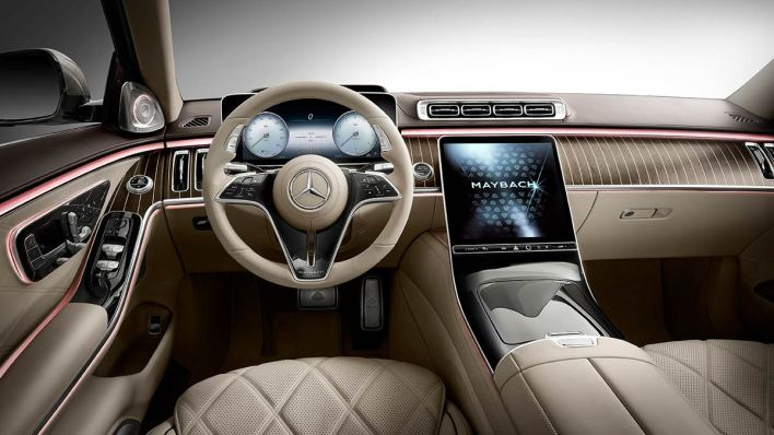 Mercedes Maybach Classe S console centrale