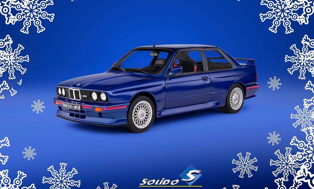 1/18 BMW M3 E30 Solido