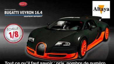 1/8 Collection Bugatti Veyron Altaya