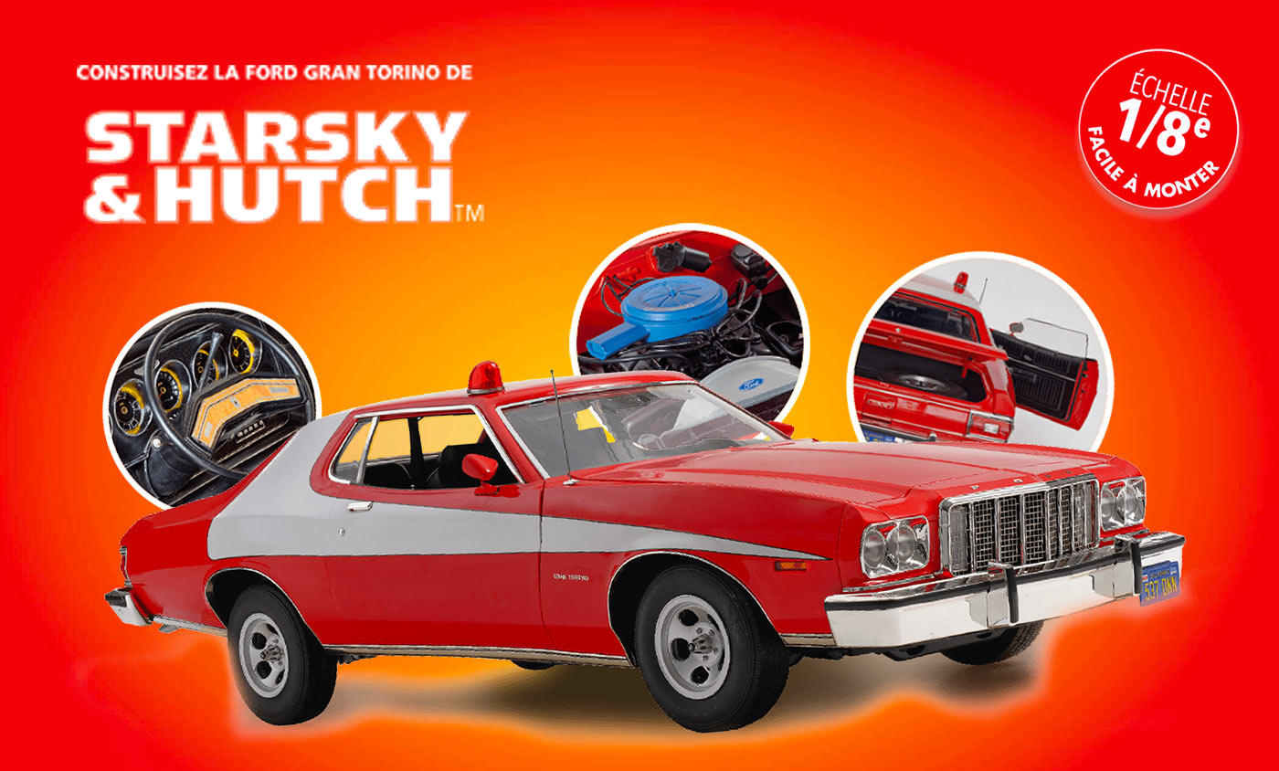 Construisez voiture Starsky Hutch Hachette Collections