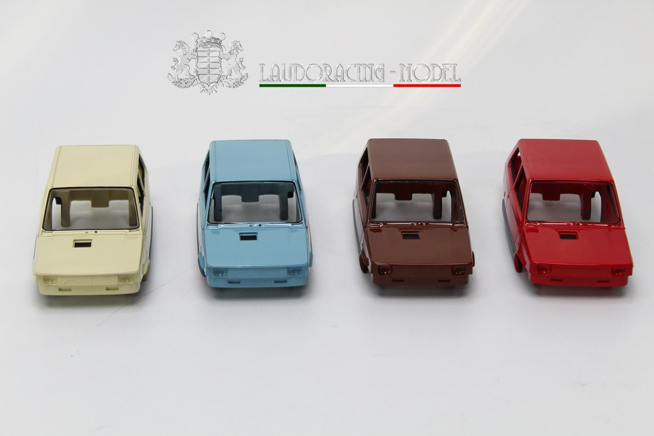 1/18 Fiat Panda Laudoracing Models