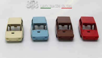 1/18 Fiat Panda Laudoracing Models