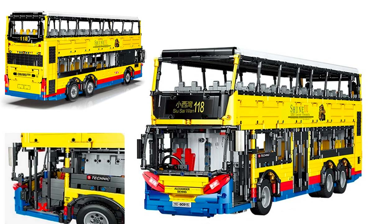The Block Zone bus