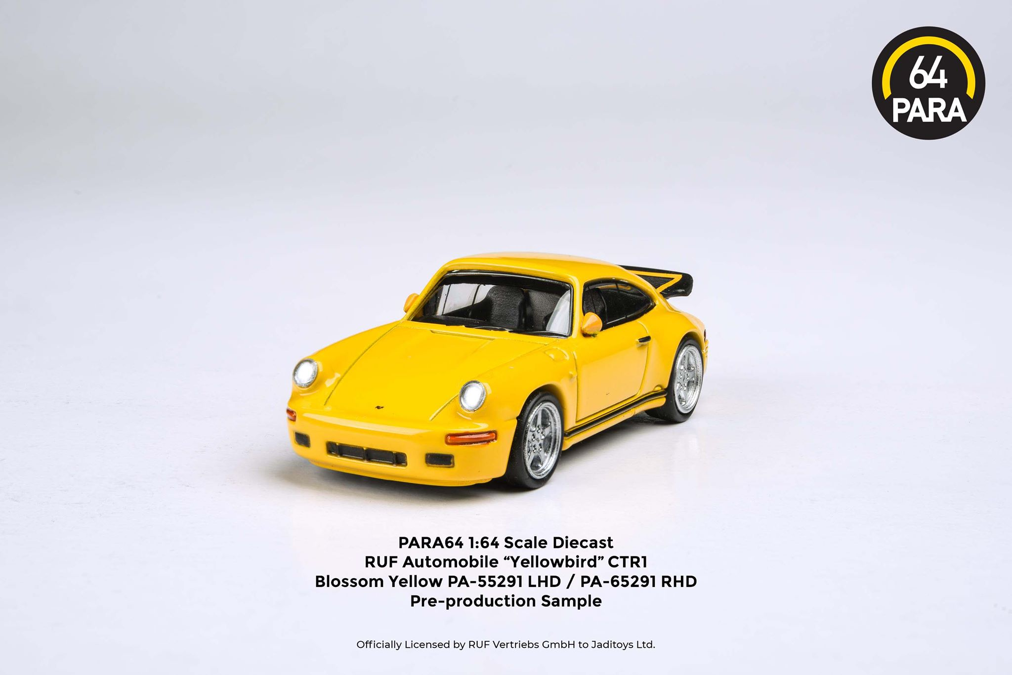 PA-55291 RUF CTR Yellowbird