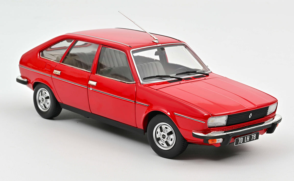 185267 Renault 20 TS Norev 1/18
