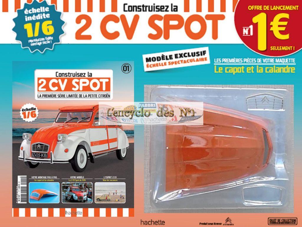 2CV Spot Hachette