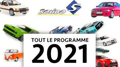 Solido nouveautés 2021