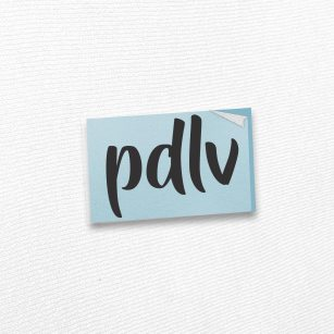 Sticker noir PDLV STL