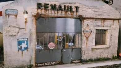 Diorama Mauvage garage Renault