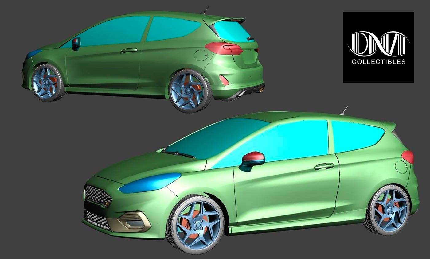 1/18 Ford Fiesta ST200 DNA Collectibles