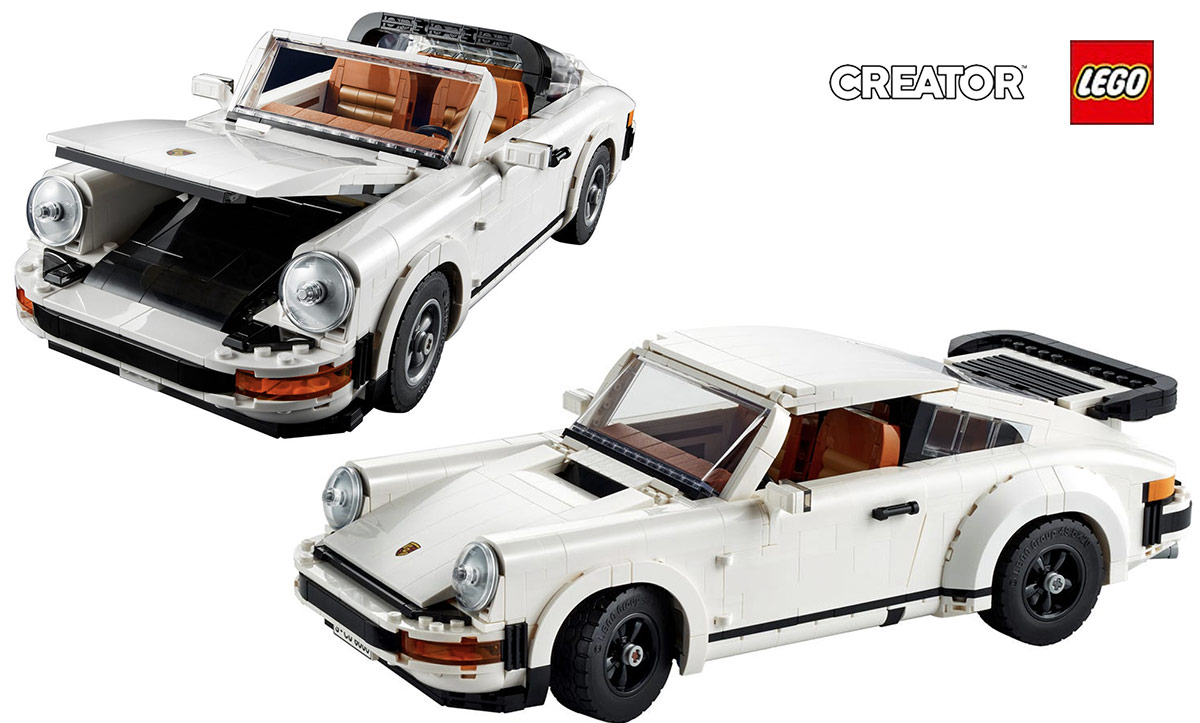 Porsche 911 Turbo Targa Lego 10295
