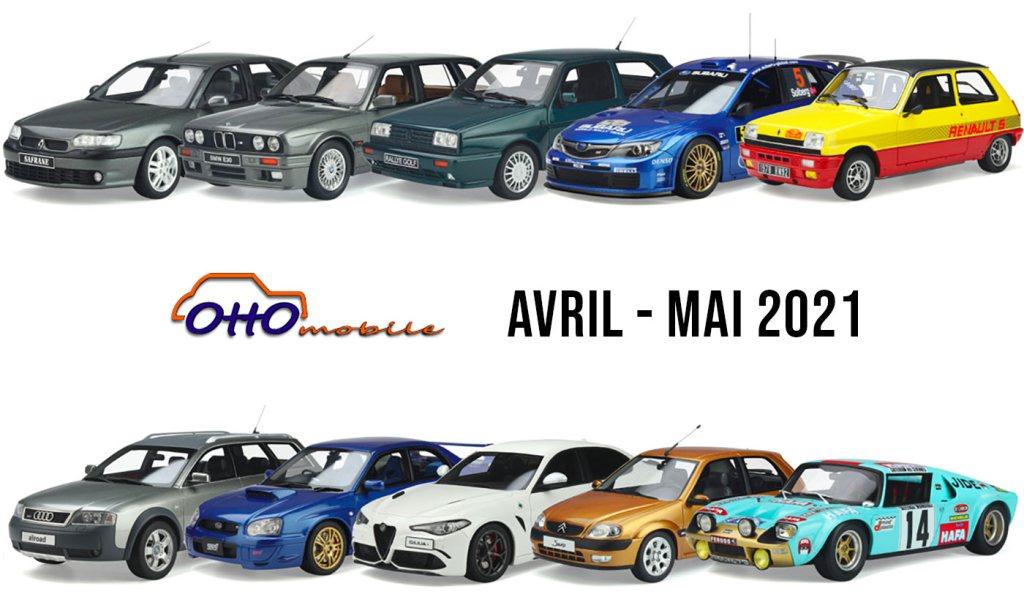 OttOmobile nouveautés avril/mai 2021