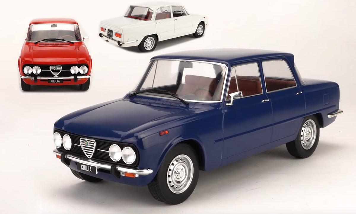 1/18 Alfa Romeo Giulia Nuova Super MCG