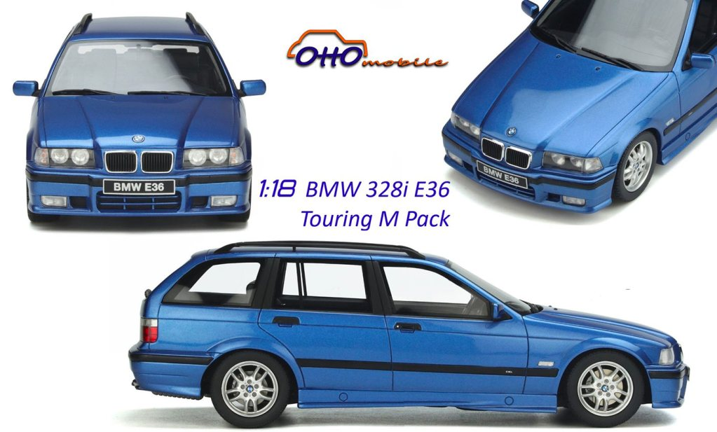 1/18 BMW Série 3 Touring E36 OttOmobile