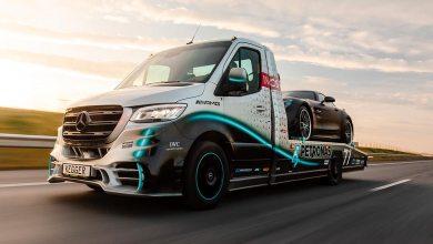 Dépanneuse Mercedes Kegger Petronas AMG