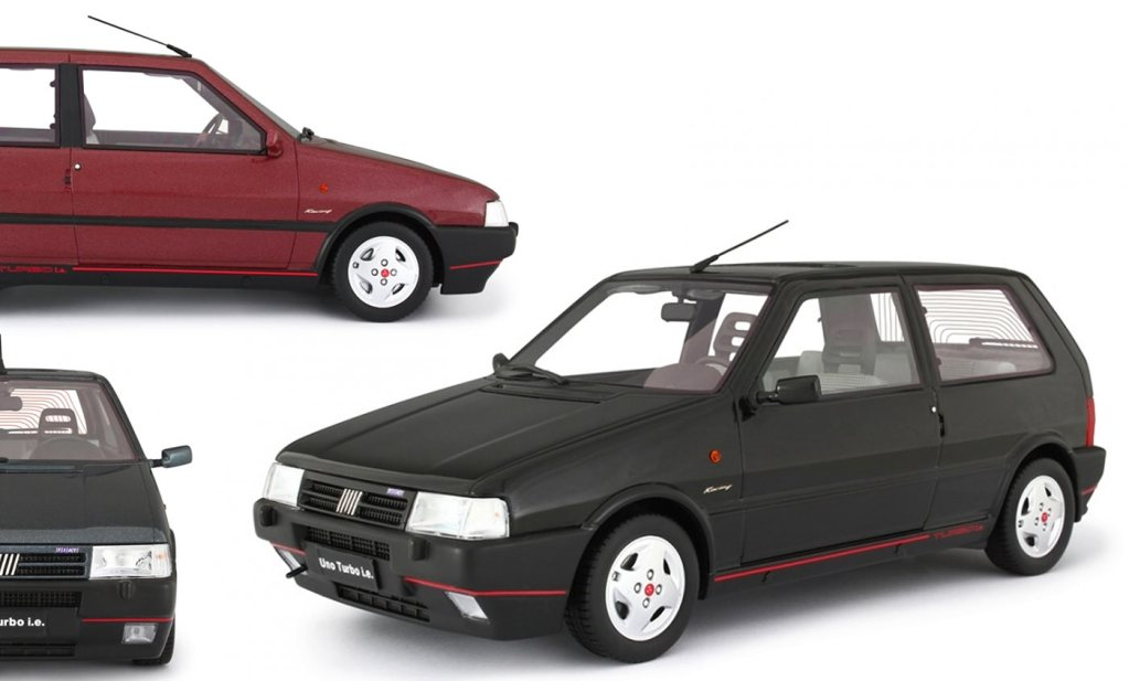 1/18 Fiat Uno Turbo Laudoracing