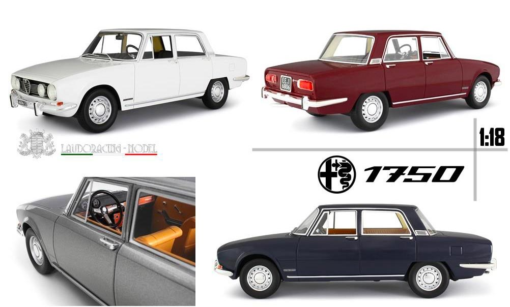 1/18 Alfa Romeo 1750 Berlina Laudoracing