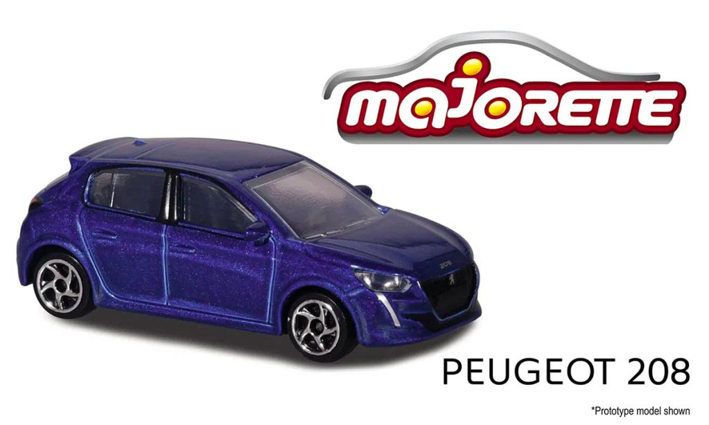 Majorette Peugeot 208