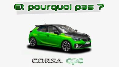 Nouvelle Opel Corsa OPC