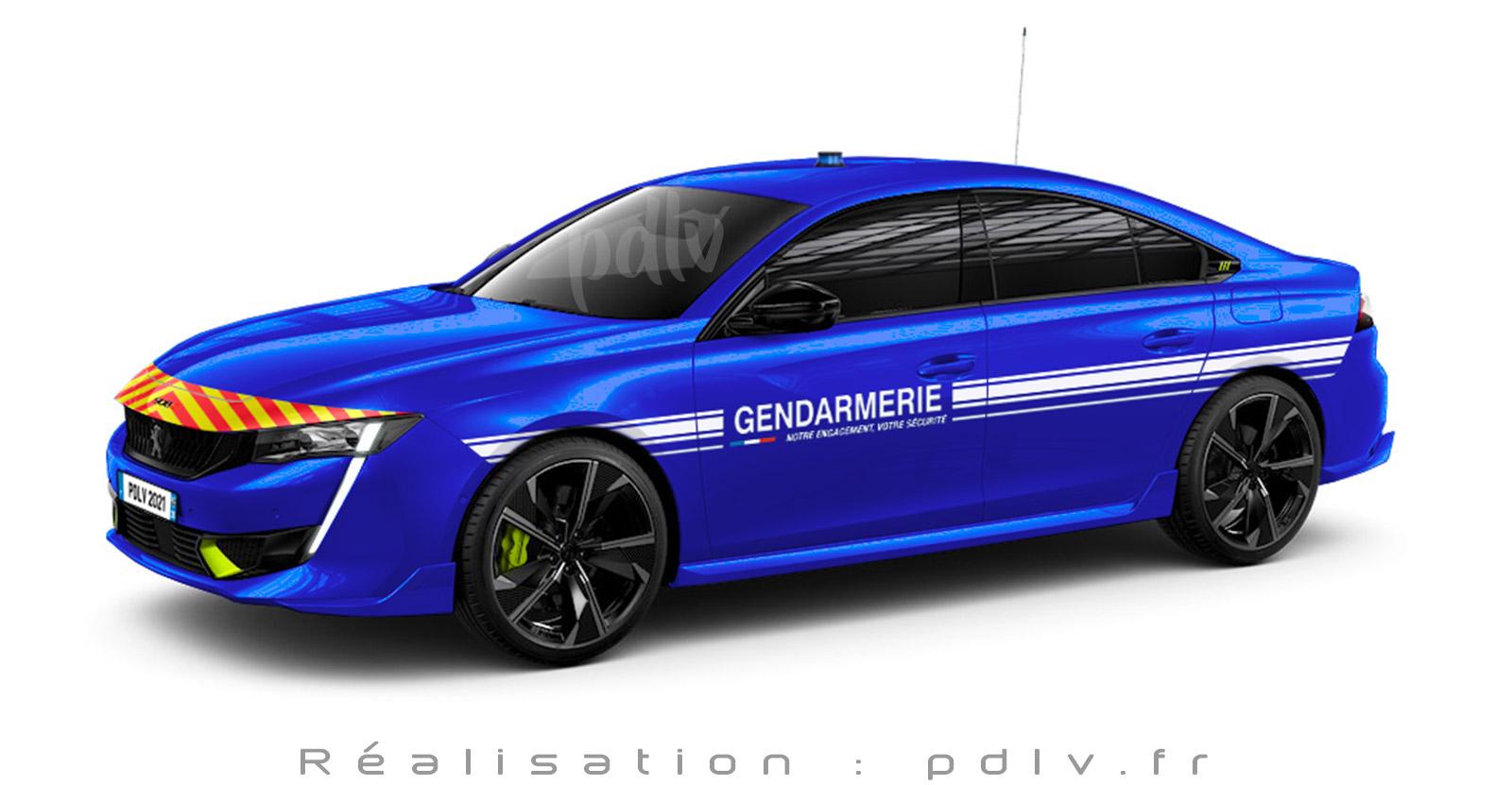 Peugeot 508 PSE gendarmerie
